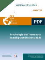 2015 Analyse Psychologie de l Internaute Et Manipulation Sur La Toile 1