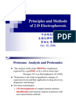 2Delectrophoresis