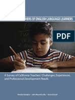 Listening to Teachers of English Language Learners