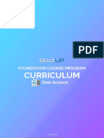 Curriculum _ Foundation _ Data Science