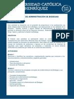 Técnicas de Administración de Bodegas1