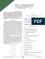 Artigo Experimento 2 - Aplicacões Do Diodo