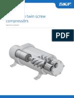 Bearings in Twin Screw Compressors