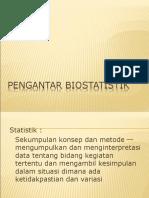 pengantar biostatistik