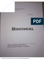 Chapter 05 - Binomial Theorem