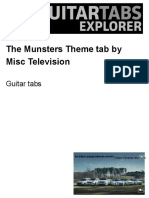 The Munsters Tab