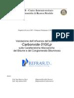 Relazione CIRS Uni Ancona