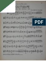 Fra Cassio Da Velletri - Solitudine - Mazurka for Guitar