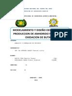 OBTENCION DE ANHIDRIDO MALEICO