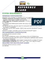 Need for Speed 3 (Reference Card)