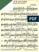 F. Amoroso - Tersicore - Mazurka Per Chitarra