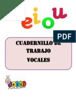Cuadernillo VOCALES