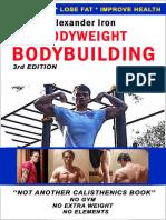 Alexander Iron - Bodyweight Bodybuilding (2018)