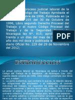 Analisis de La Ley 185 Segundo Libro Procedimiento Laboral y La Ley 815, Codigo Procesal Del Trabajo y de La Seguridad Social de Nicaragua.
