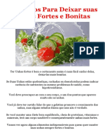Alimentos Para Manter as Suas Unhas Sempre Fortes e Bonitas - PDF
