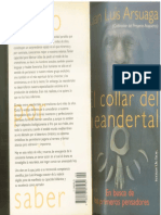 ARSUAGA El Collar Del Neanderthal