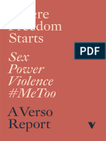 Where Freedom Starts Sex Power Violence Metoo
