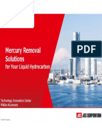 Mercury Removal Solutions