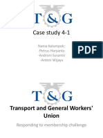 Transport and General Workers' Union Case