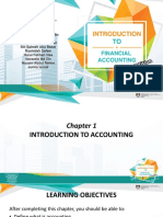 Chapter 1 Intoduction to Accounting
