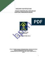 Analisis Dan Evaluasi Peraturan Perundang-undangan Tentang Kekarantinaan