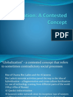 Chapter 1 - Globalization - A Contested Concept