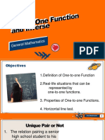 One to One Function and Inverse 2