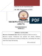 microwaves and antennas module 1 notes