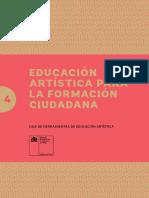 La educación artística y la formación ciudadana