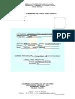 Informe de Consultorio Jurídico