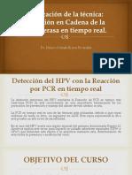Aplicación de La Técnica PCR RT
