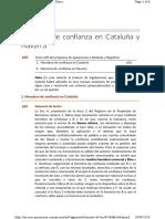 10. Herencia de Confianza en Cataluña y Navarra