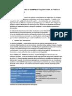 Los Cambios Introducidos en El DSM 5 Con Respecto Al DSM IV Acentúa Su Reduccionismo Clínico