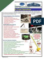 039 G HSE Bulletin Safe Crane Operations