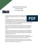 La Evolucion de La Formas Sociales en El Perú
