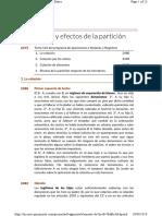 27. La Colación y Efectos de La Partición