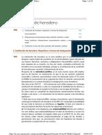 7. Institución de Heredero