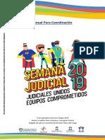 Manual Semana Judicial 2019