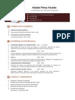 Curriculum Vitae Profesionales