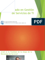 Diplomado en Gestión de Servicios de TI - Estrategia del Servicio 2
