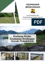 27. Penilaian Risiko Keamanan Bendungan Metode Probabilistik