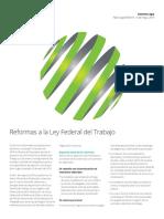 Reforma Ley Federal Trabajo MX Mayo19