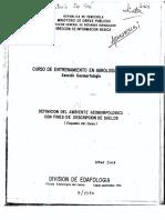 Zinck Definición Del Amb Gemorfol Con Fines Descrip de Suelos