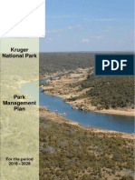 Kruger national park 10 year plan