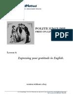 Polite English 6 Without a Key