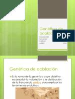 presentación genética de la población