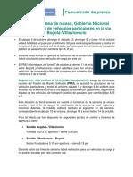 COMUNICADO VIA AL LLANO Vehículos_particulares (2)