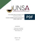 Análisis de Los Estados Financieros de Ferreycorp Finanzas