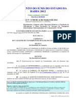 Regulamento Do Icms Do Estado Da Bahia