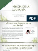 Evidencia de La Auditoría